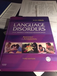 My ride or die book since 2008. Any question I have about language development, disorders, or treatment strategies, this is the first place I look.